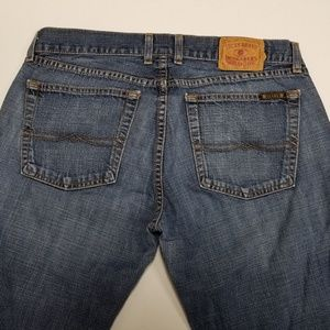 Women Jeans Lucky Brand Dungarees Button Fly 12/31